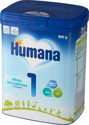 Humana 1 Mleko początkowe  od urodzenia