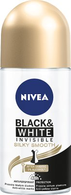 Nivea Antyperspirant roll on  Black & White Invisible Silky Smooth