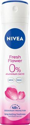 Nivea Dezodorant Fresh Flower w sprayu