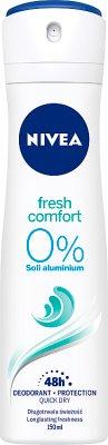 Nivea Dezodorant Fresh Comfort  w sprayu