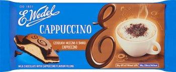 E. Wedel Czekolada mleczna o smaku cappuccino