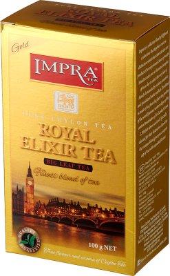 Impra Tea Royal Elixir Gold Czarna liściasta herbata cejlońska