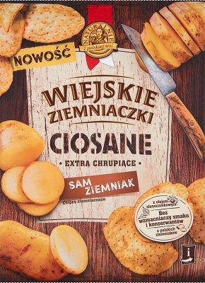 Wiejskie Ziemniaczki Ciosane Chipsy Sam ziemniak