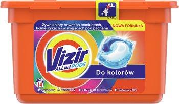 Vizir Kapsułki do prania 3in1  do kolorów