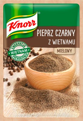 Knorr Pieprz czarny z Wietnamu  mielony