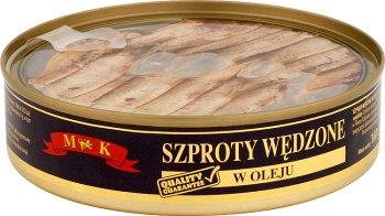 MK Szproty wędzone w oleju
