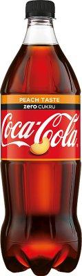 Coca-Cola Napój gazowany Zero Peach o smaku cola i brzoskwinia