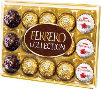 Ferrero Collection Zestaw Rondnoir,Ferrero Rocher i Raffaello