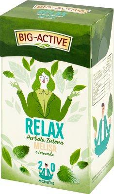Big-Active Herbata Relax melisa  z lawendą