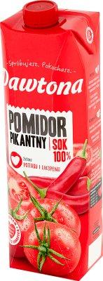 Dawtona Sok 100% pomidor pikantny