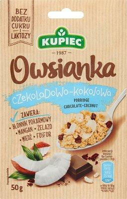 Kupiec Owsianka czekoladowo-kokosowa