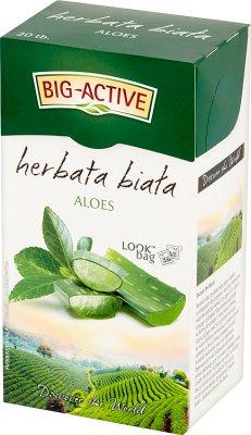 Big-Active Herbata biała z aloesem  ekspresowa