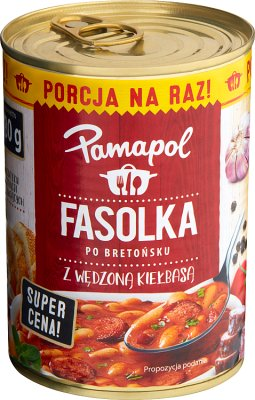 Pamapol Baked beans with smoked sausage