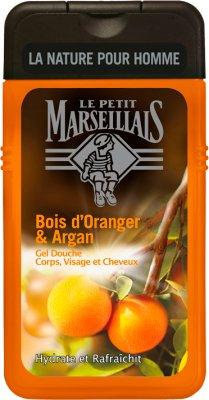 Le Petit Marseillais Żel  pod prysznic 3 w 1 dla mężczyzn  Drzewo pomarańczowe i olejek arganowy