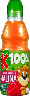 Kubuś 100% Sok  malina marchew jabłko