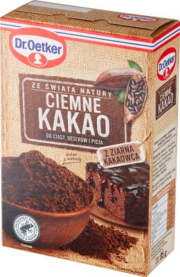 Dr. Oetker Ciemne Kakao bez glutenu