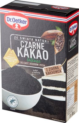 Dr. Oetker Czarne Kakao Intense  bez glutenu