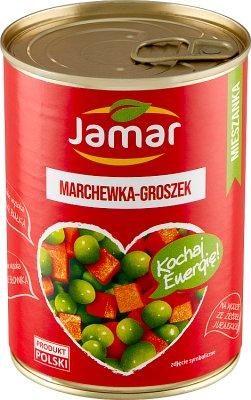 Jamar Mieszanka warzywna  marchewka groszek