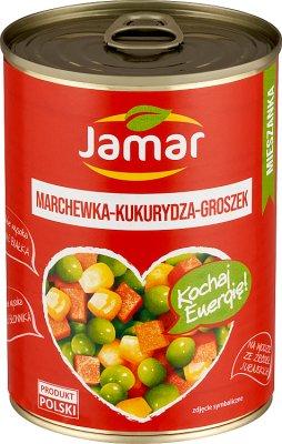 Jamar Mieszanka warzywna  marchewka groszek kukurydza