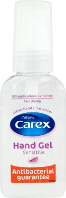 Carex Sensitive Antibacterial hand gel