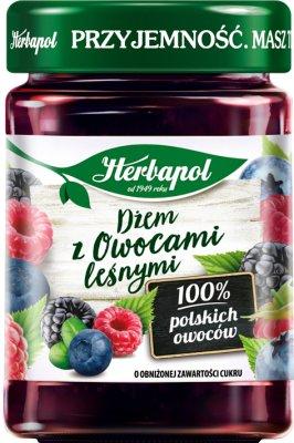 Herbapol Dżem z Owocami leśnymi o obniżonej zawartości cukru