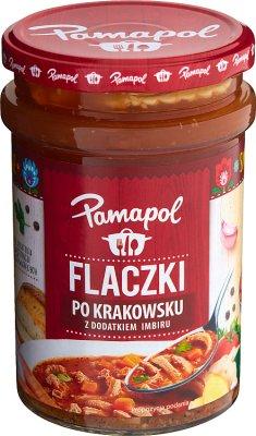 Pamapol Flaczki po krakowsku  z dodatkiem imbiru