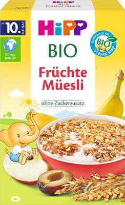 Musli wielozbożowe banany-jabłka-śliwki BIO