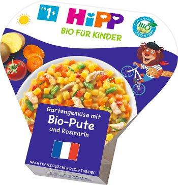 HiPP Warzywa z ogródka z indykiem i rozmarynem BIO