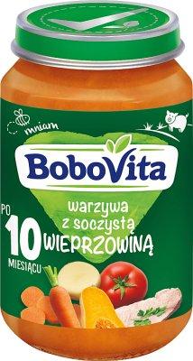 BoboVita obiadek soczysta wieprzowina z warzywami