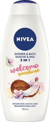 Nivea Płyn do kąpieli i żel  pod prysznic 2 w 1 Welcome Sunshine