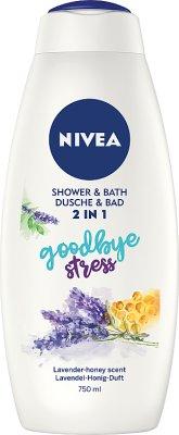 Nivea Płyn do kąpieli i żel  pod prysznic 2 w 1 Goodbye Stress