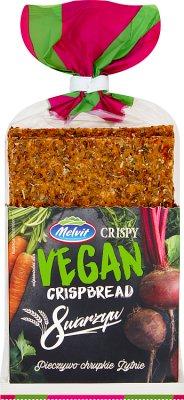 Melvit Crispy Pieczywo chrupkie żytnie 8 warzyw