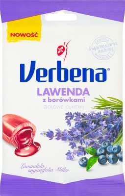 Verbena Lawenda z borówkami