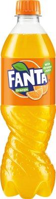 Fanta Napój gazowany o smaku  pomarańczowym