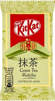 KitKat Green Tea Matcha Paluszek  waflowy w białej czekoladzie