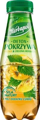 Herbapol Detox Pokrzywa Napój  owocowo-ziołowy pigwa & zielona herbata
