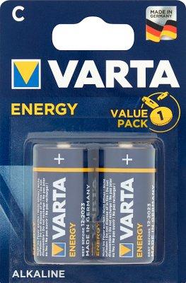 Varta Energy Baterie alkaliczne   R14  typ C