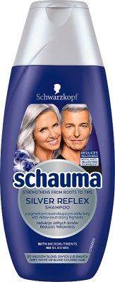 Schauma Silver Reflex Szampon  do włosów blond,siwych lub białych