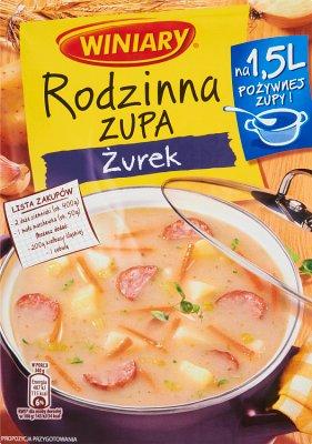 Winiary Rodzinna zupa Żurek