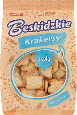 Aksam Beskidzkie Krakersy z solą
