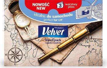 Velvet Travel Pack Трехслойные салфетки 50 штук