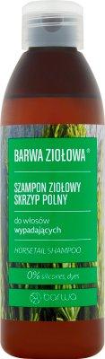 Barwa Ziołowa Szampon ziołowy  skrzyp polny do włosów wypadających