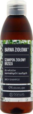 Barwa Ziołowa Szampon ziołowy  brzoza do włosów normalnych i suchych