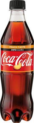 Coca-Cola zero Peach Taste Napój  gazowany