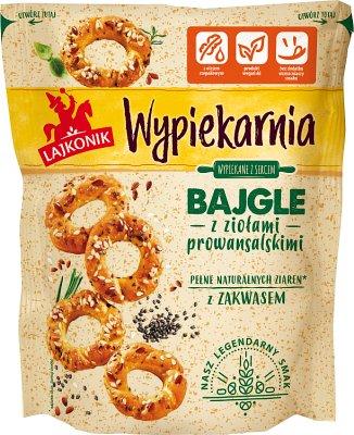 Lajkonik Bakery Bagels con Herbes de Provence