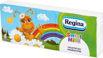 Regina Chusteczki higieniczne Świat Milli