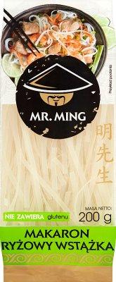 Mr. Ming Makaron ryżowy wstążka bezglutenowy