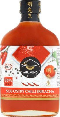 Sr. Salsa Ming con chile picante sriracha