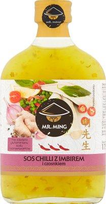 Mr. Ming Sos chilli z imbirem  i czosnkiem