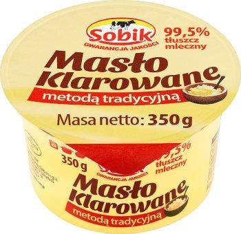 Sobik Masło klarowane metodą tradycyjną